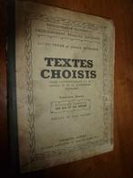 1939 Textes Choisis  (pour 12 à 18 Ans Et Plus)--> Bien PENSER,PARLER Et ÉCRIRE  Le Français Est Une Clé De La Réussite - Livres, BD, Revues