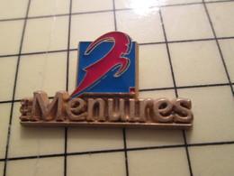 PIN613a Pin's Pins / Rare Et Beau : VILLES / STATION SPORTS D'HIVER LES MENUIRES C'est En Bretagne Avec Les Dolmens ? - Bowls - Pétanque