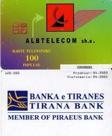 TARJETA TELEFONICA DE ALBANIA. 04.2003 (023) - Albania
