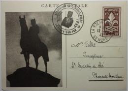 Carte Maximum - Exposition De Timbres 1947 La Rochelle - 787 - Maximum Cards