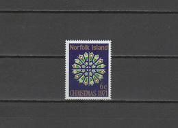 Norfolk Island 1971 Michel 128 Christmas Stamp MNH - Norfolk Island