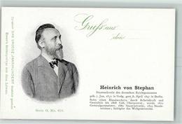52283014 - Heinrich Von Stephan  Das Grosse Jahrhundert Serie O Nr. 476 A - Non Classificati