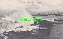 Asie Sri Lanka Ceylon Colombo Breakwater éditeur Sadoon N°24 - Sri Lanka (Ceylon)