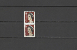 Norfolk Island 1971 Michel 123 Definitives QEII 6c Stamp As Pair MNH - Norfolk Island