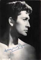 JEAN CLAUDE PASCAL - DEDICACE  - - Autographes