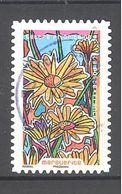 France Autoadhésif Oblitéré N°1304 (fleurs à Foison - Marguerite) (cachet Rond) - France