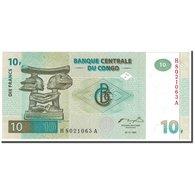Billet, Congo Democratic Republic, 10 Francs, 1997, 1997-11-01, KM:87a, NEUF - Congo
