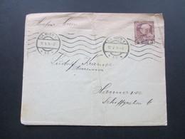 Österreich 1914 Privatumschlag 3 Heller. Gesendet Nach Hannover - 1850-1918 Imperium