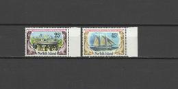 Norfolk Island 1975 Michel 175-176 Ships, Launching Of The Resolution Set Of 2 MNH - Norfolk Island