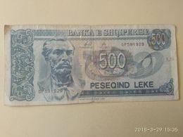 500 Leke 1996 - Albania