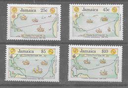 Serie De Jamaica Nº Yvert 770/73 ** - Jamaica (1962-...)