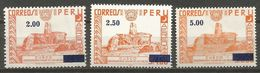 Peru - 1975 Airmail CUSCO Surcharges MNH ** - Peru