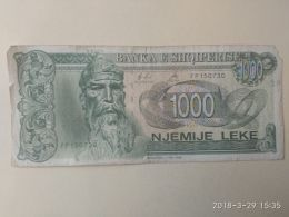 1000 Leke 1996 - Albanie