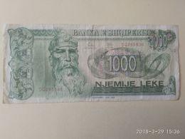 1000 Leke 1992 - Albania