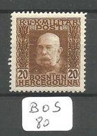 BOS YT 71 * - Bosnie-Herzegovine