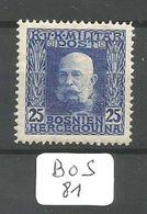 BOS YT 72 * - Bosnie-Herzegovine