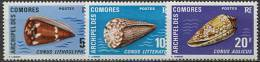Comores, N° 072 à N° 076** Y Et T, 72 / 76 - Unused Stamps