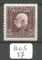 BOS YT 78 * - Bosnie-Herzegovine