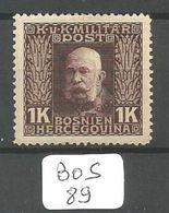 BOS YT 80 * - Bosnie-Herzegovine