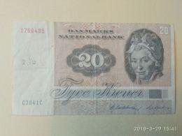 20  Kroner 1972 - Danimarca