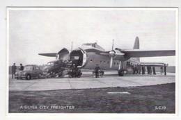 "Cartolina ""A Silver City Freighter - The Silver City Air Ferry"". - Aerei"