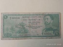 1 Birr 1961 - Ethiopie