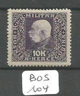 BOS YT 114 * - Bosnie-Herzegovine