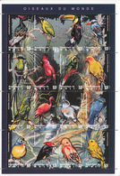 1995 Mali Birds Oiseau Complete Set Of 6  Miniature Sheets  MNH - Mali (1959-...)