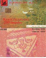 TARJETA TELEFONICA DE ALBANIA. 05.00 (037) - Albania