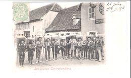 D 88     CARTE TOP..  LES JOYEUX CONTREBANDIERS  HOTEL DU BALLON - Non Classés