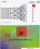 TARJETA TELEFONICA DE ALBANIA. 11.03 (039) - Albania
