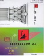 TARJETA TELEFONICA DE ALBANIA. 11.03 (040) - Albania