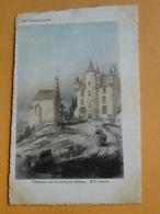 PERCHE En NOCE  (Orne) -- Château De Courboyer Au XVème Siècle - France