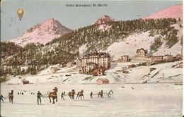 St.Moritz,Hotel Belvedére 1918 - GR Grisons
