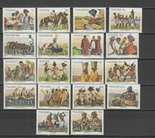 Transkei 1984 Michel 137-154 Definitives, Cultures Of Xhosa Set Of 18 MNH - Transkei