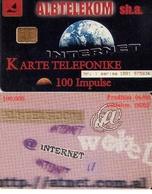 TARJETA TELEFONICA DE ALBANIA. 06.00 (043) - Albania