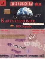TARJETA TELEFONICA DE ALBANIA. 11.00 (044) - Albania