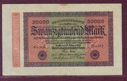 ALLEMAGNE - République De Weimar 20 000 Mark - 20/02/1923 - [ 3] 1918-1933 : República De Weimar