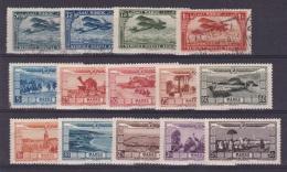 Maroc  PA N°3,4,5,7, 12 à 21 - Poste Aérienne
