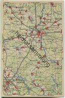 Wona-Landkarten-Ansichtskarte 44-53 - Spremberg - Verlag Wona Königswartha - Spremberg