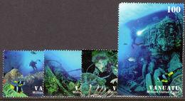 Vanuatu 2007 Dive Sites Million Dollar Point Domestic Unmounted Mint. - Vanuatu (1980-...)