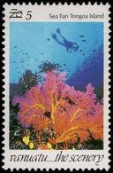 Vanuatu 1998 5v Surcharge Unmounted Mint. - Vanuatu (1980-...)