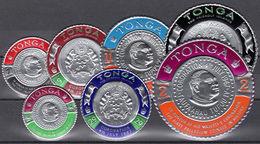 Tonga 1967 Coronation Air Set Unmounted Mint. - Tonga (1970-...)