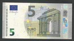 """GREECE """"Y"""" NEW!   """"Y""""  5 EURO GEM UNC! Draghi Signature! Printer Y005G1 !! - EURO"""