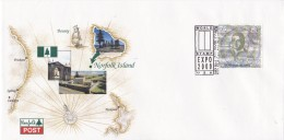 Norfolk Island 2000 Stamp Expo FDC - Isola Norfolk