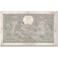 Billet, Belgique, 100 Francs-20 Belgas, 1939, 1939-04-13, KM:107, TB - [ 2] 1831-... : Regno Del Belgio