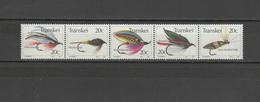 Transkei 1983 Michel 115-119 Fly Fishing Strip Of 5 MNH - Transkei