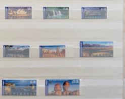 Australia 2000  INTERNATIONAL STAMOPS SG 1982 - 1989  MNH - Ungebraucht