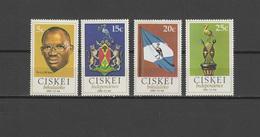 Ciskei 1981 Michel 1-4 Independence Set Of 4 MNH - Ciskei