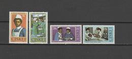 Ciskei 1982 Michel 22-25 Cecile Makiwane Set Of 4 MNH - Ciskei